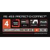 Trelock RS 453 Protect-O-Connect slot NAZ ZR 20 zwart